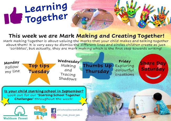 Overview Mark Making and Creating Together