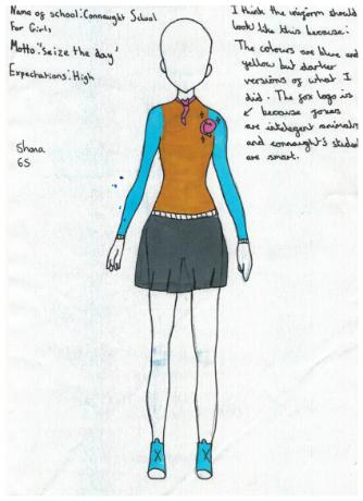 shona school uniform design